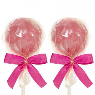 Cake-pops met Ruby-chocolade (12 stuks)