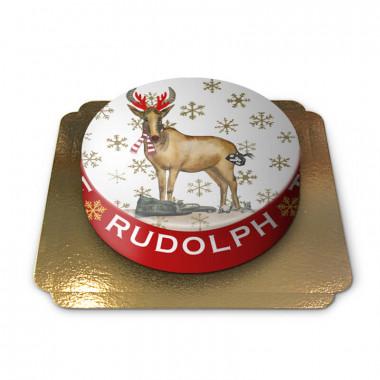 Rudolph Kerstmistaart van Pia Lilenthal