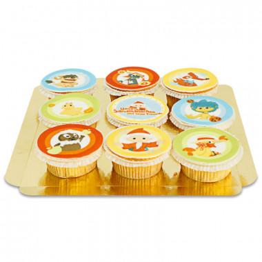 Klaas Vaak & zijn vrienden cupcakes
