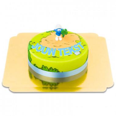 Smurf taart