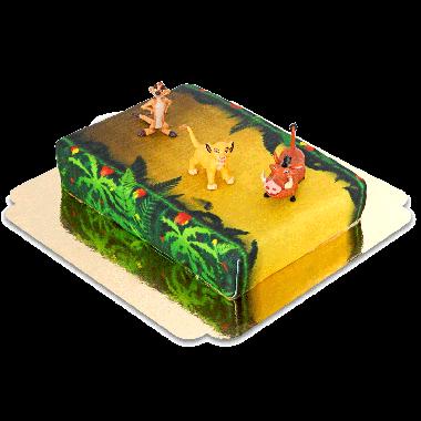 Simba, Timon en Pumba op Jungle taart