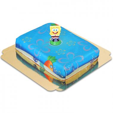 Spongebob op zee taart