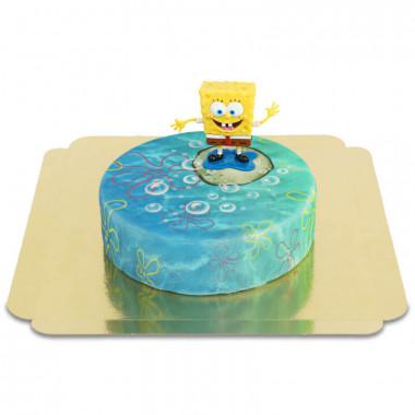 SpongeBob op ronde onderwatertaart