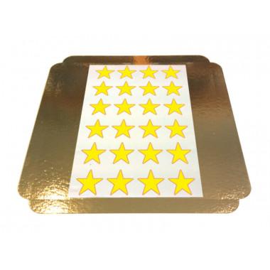 Eetbare print - sterren 5x5cm