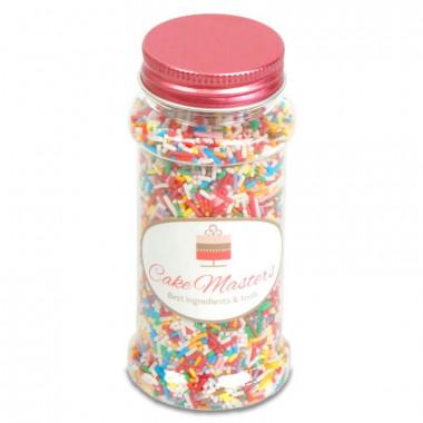 Kleurrijke suiker sprinkles - 80g