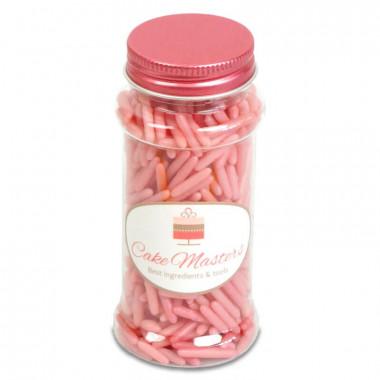 Roze suiker staafjes 80g