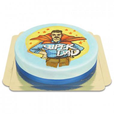 Super Dad taart