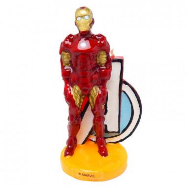 Iron-Man-taartkaars