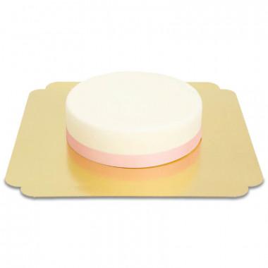 Smal effen taartenlint, 19 mm
