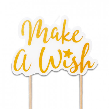 Taartkaars, Make a Wish Gold