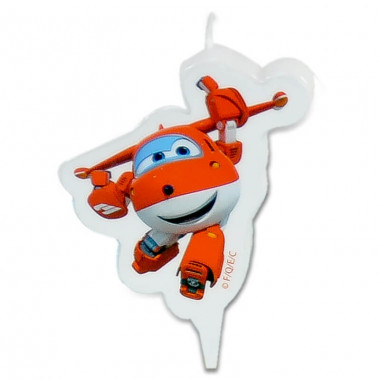 Superwings taartenkaars Jett