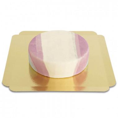 Transgender vlag taart