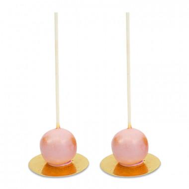 Valentijn Deluxe Cake Pops Roze (10 Stuks)