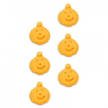 Pompoen suikerdecoratie (8 stuks)
