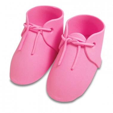 Roze suiker schoen