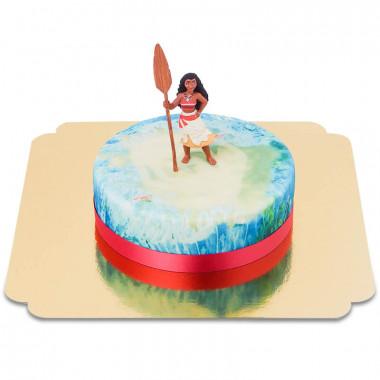 Vaiana op zee-taart