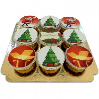 Kerst Cupcakes