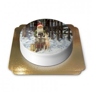 Kerstkabouter met sneeuwhaas - Jan Bergerlind