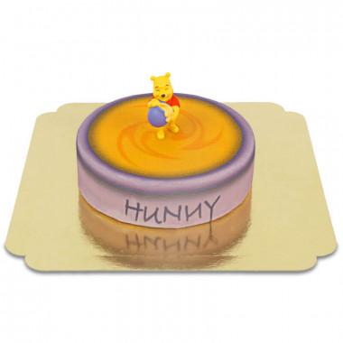 Winnie de Poeh op honingpottaart