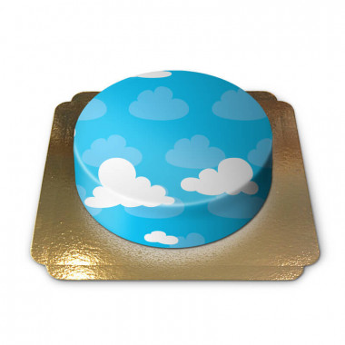 Wolken taart
