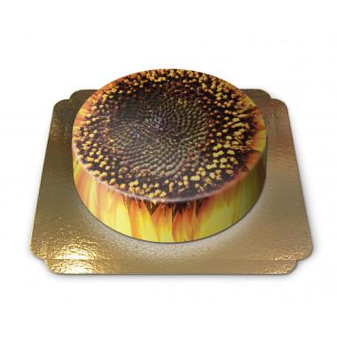 Zonnebloem taart