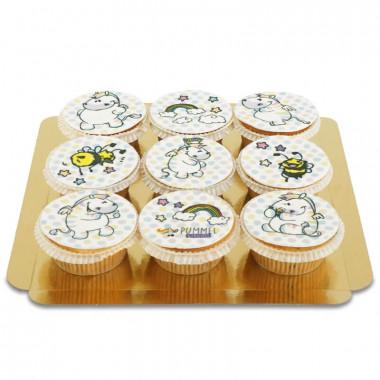 Chubby Zebra Cupcakes