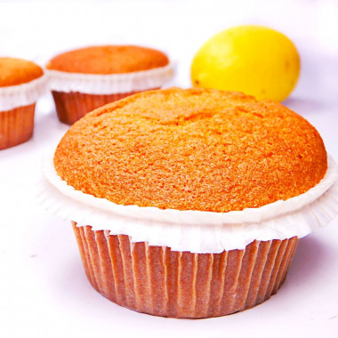 Citroen-muffins, 9 stuks