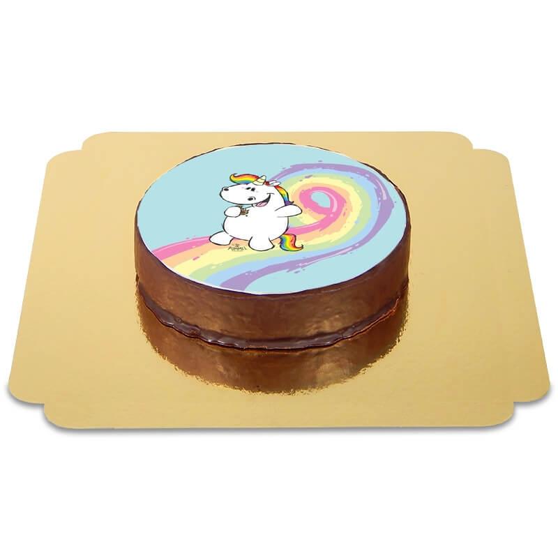Tort z jednorożcem Pummel