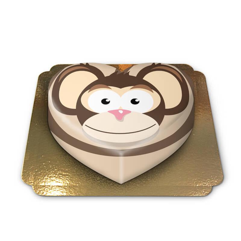Tort z małpką