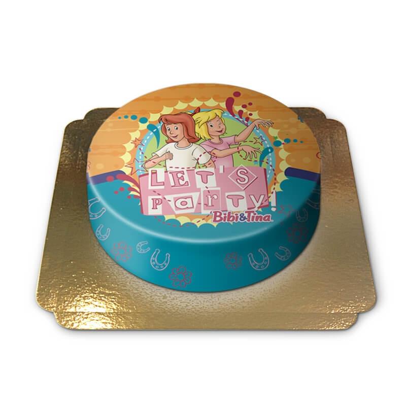Party-Torte Bibi und Tina