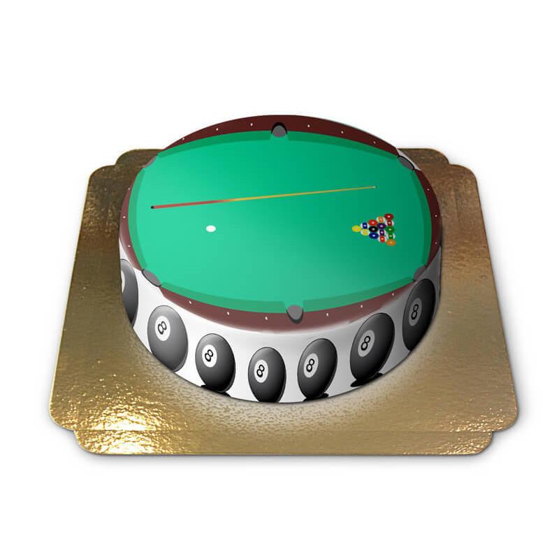 Billard-Torte
