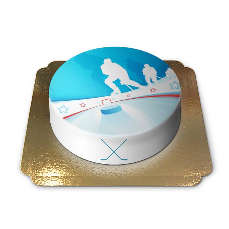 Eishockeytorte