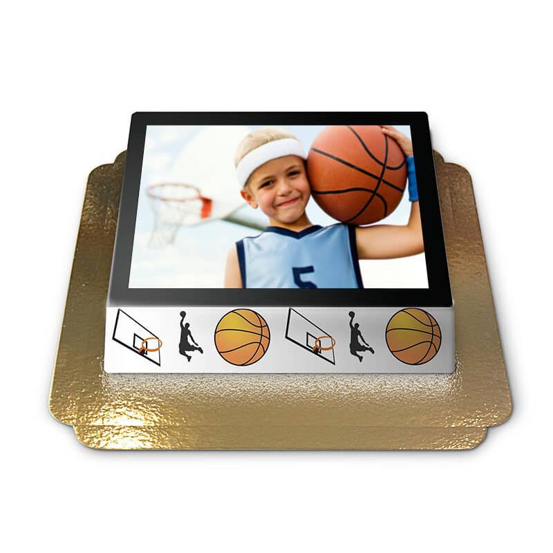 Tort ze zdjęciem - Koszykówka