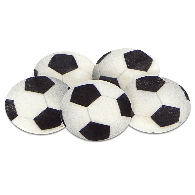 Voetballen, ongeveer 4 cm (5 stuks)