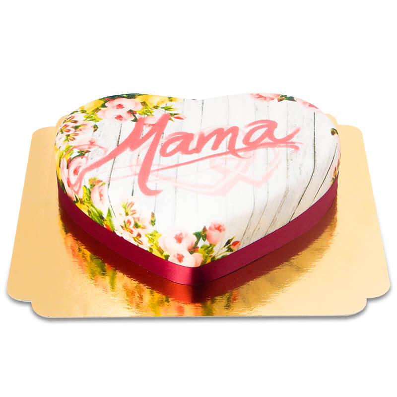 Kwiecisty tort dla mamy