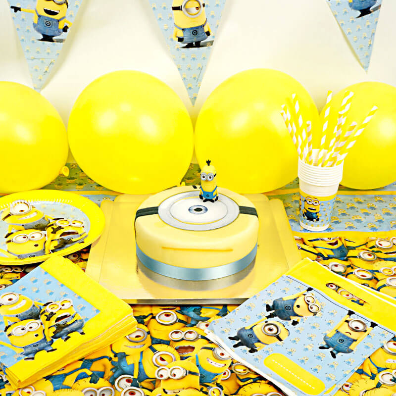 Partyset Minions - incl. taart
