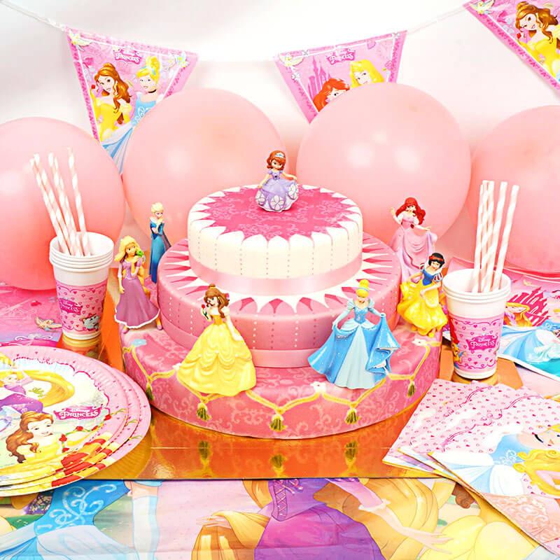 Partyset Prinsessen - incl. taart