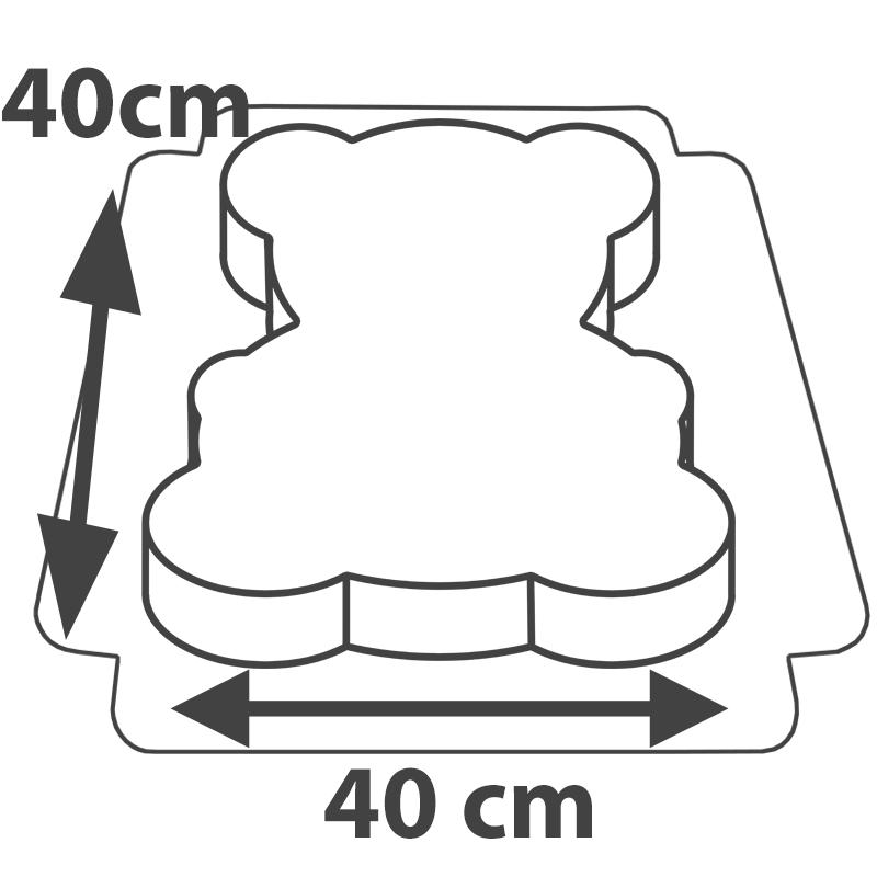 Tort panda wymiary