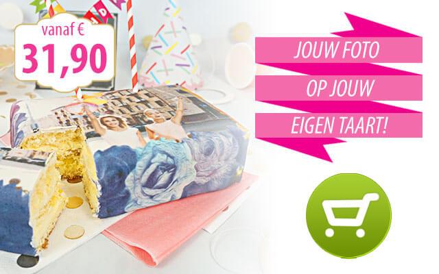 Fototaarten & verjaardag taart online bestelen!