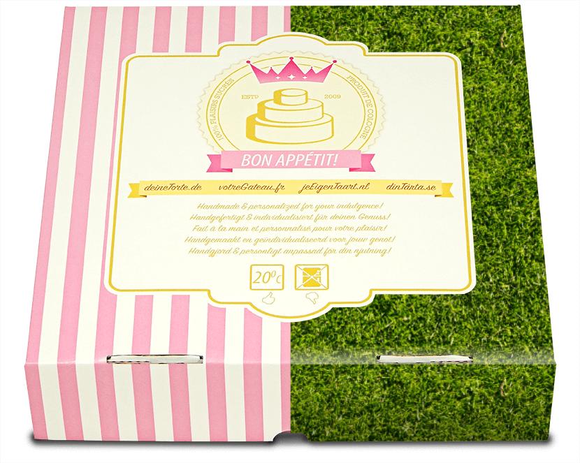 Roze & tegelijk groene verpakking