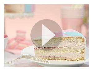 Frambozencreme taart