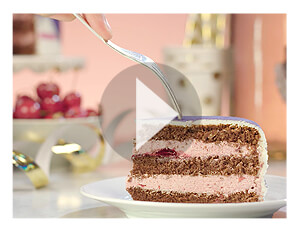 Kerscreme taart